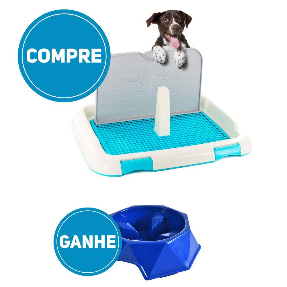 Compre agora Sanitario de Cachorro Higienico e ganhe grátis 1 Comedouro Lento