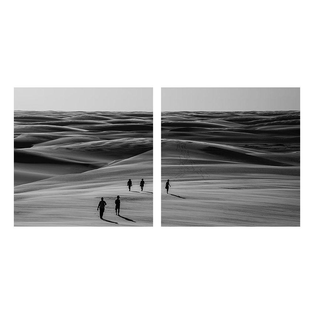 Fotografia Artistica Profissional Deserto 2 de 65cmx65cm