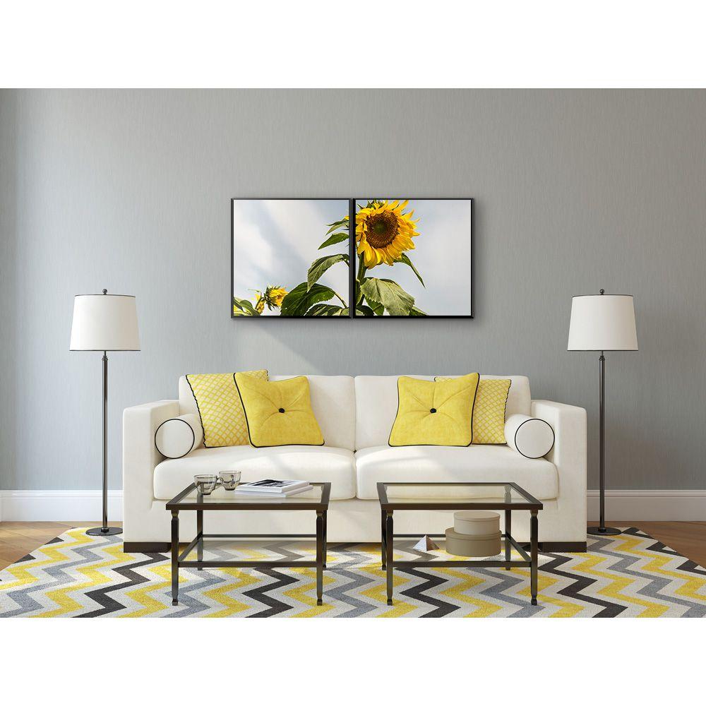 Fotografia Artistica Profissional Flores Girassol 2 de 65cmx65cm