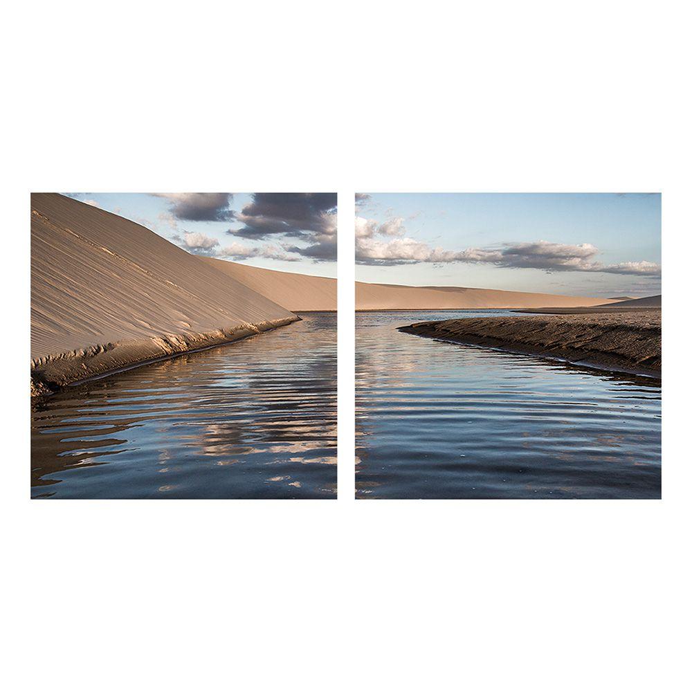 Fotografia Artistica Profissional Natureza Rio 2 de 65cmx65cm