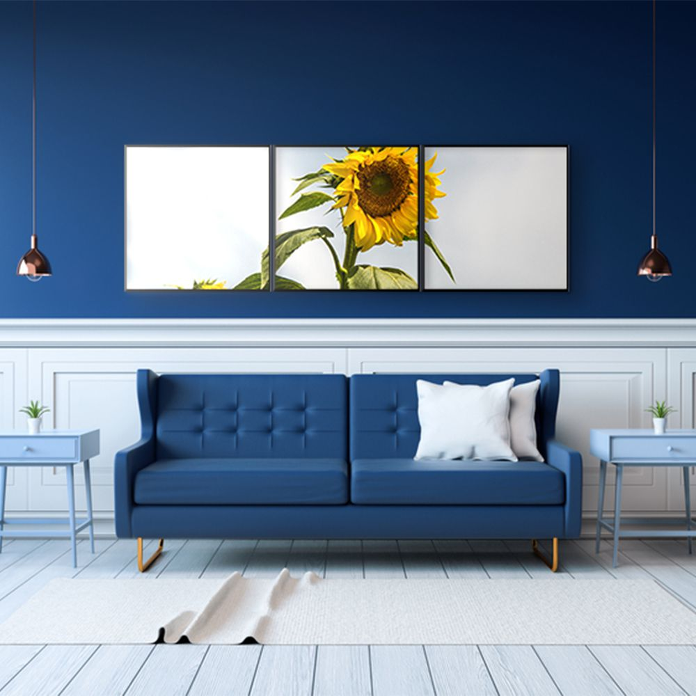 Fotografia Artistica Profissional Flores Girassol 3 de 65cmx65cm