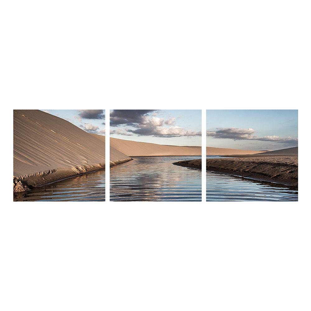 Fotografia Artistica Profissional Natureza Rio 3 de 65cmx65cm