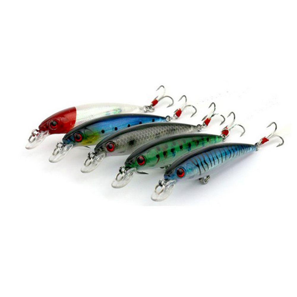 Isca Artificial Pesca Tucunaré Kit com 10