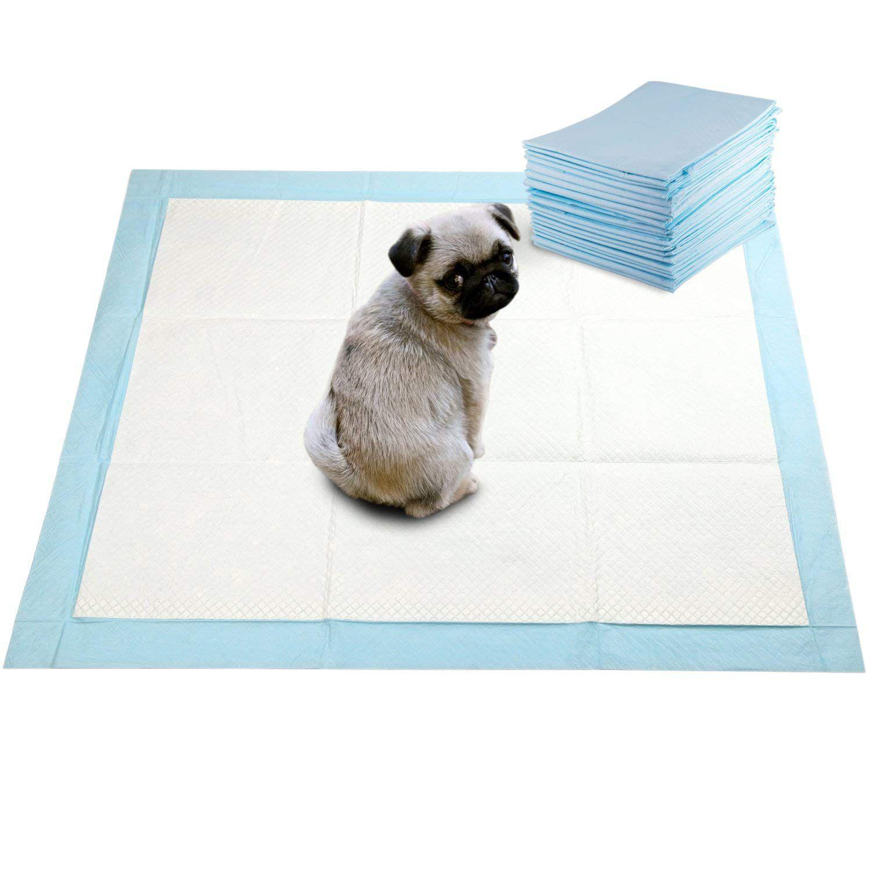 Tapete Higiênico para Cachorro 80x60cm ultra absorção de 1L pack com 30un