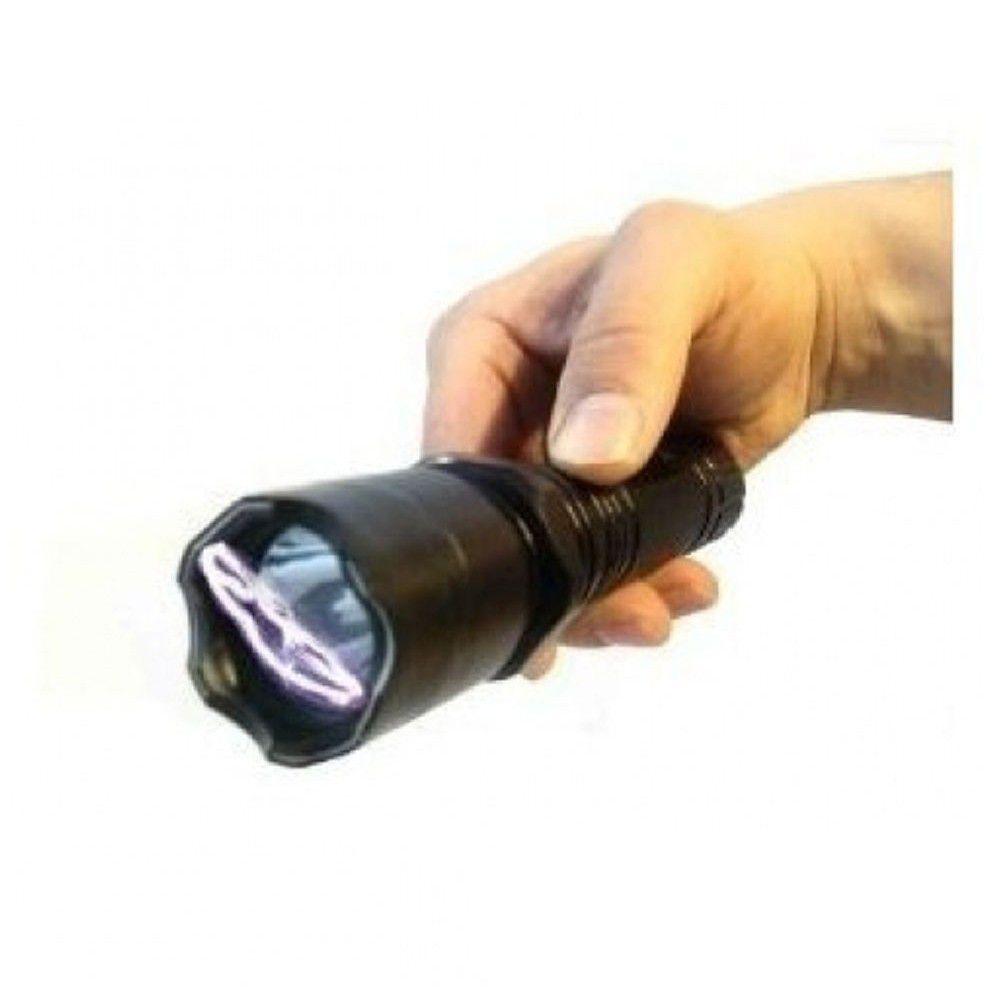 Lanterna Choque Recarregável Led Taser Defesa Pessoal