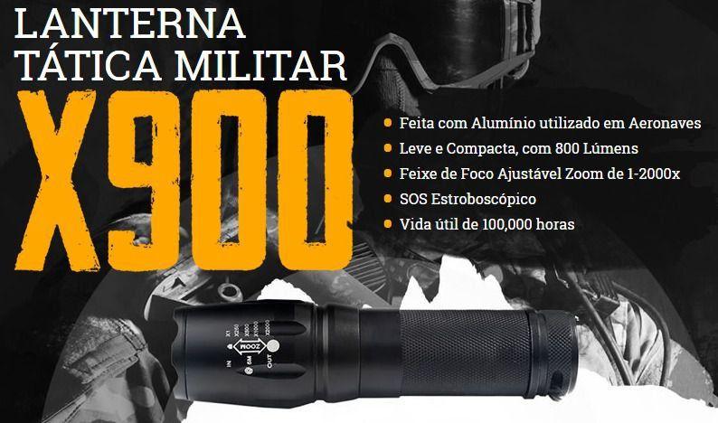 Lanterna X900 Shadowhaw Militar Americana