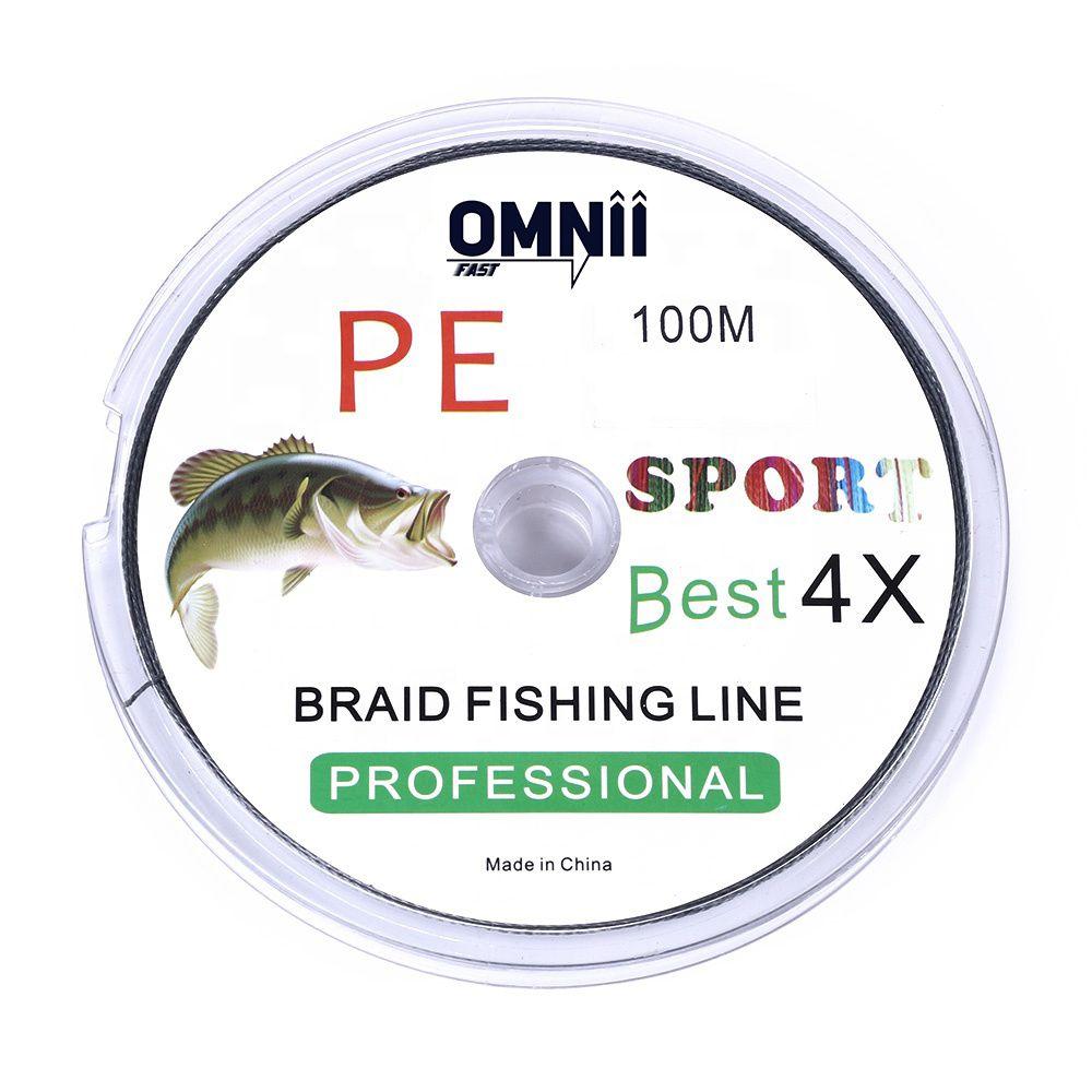 Linha de Pesca Multifilamento 0.8 - 0,14 mm - 15 lbs 6,8kg - 100m