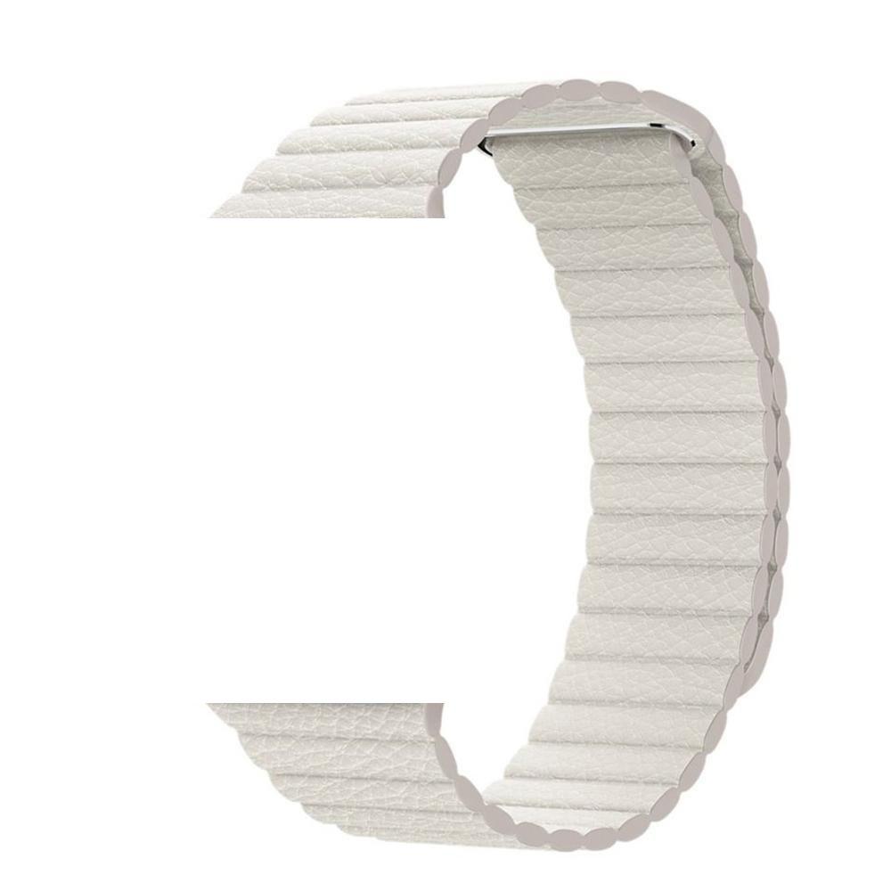 Pulseira de Couro Loop Magnetica para APPLE WATCH - 42/44mm - Branco