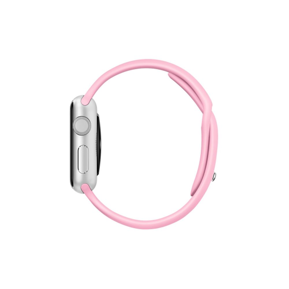 PULSEIRA Sport para APPLE WATCH em Silicone 38/40mm Rosa Bebê