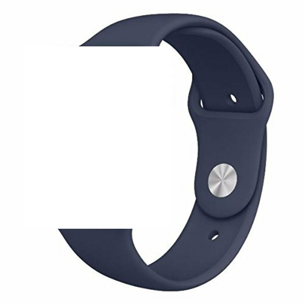 Pulseira de Silicone Apple Watch Esportiva 42/44mm - Azul Escuro