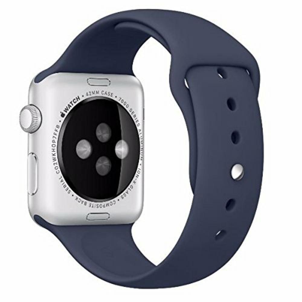 Pulseira de Silicone Apple Watch Esportiva 42/44mm - Azul Escuro