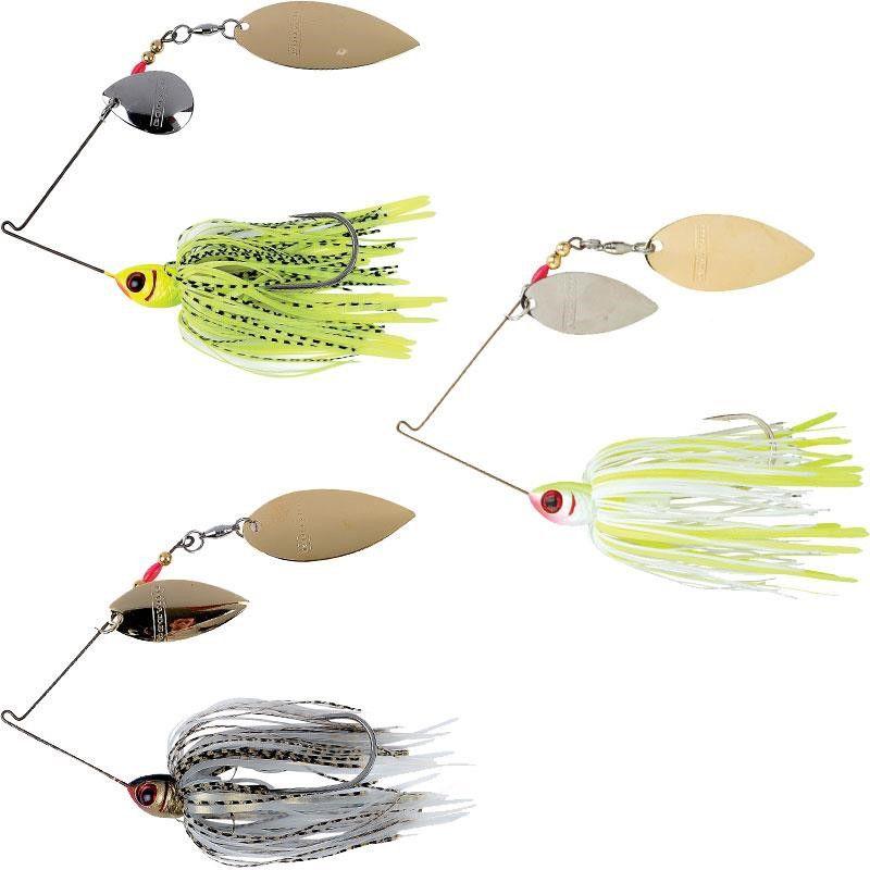 Spinner Bait Isca de Pesca Artificial Pack com 15