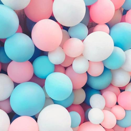 Balão Bexiga Candy Colors Cor Pastel Sortido 50 Unidades N5