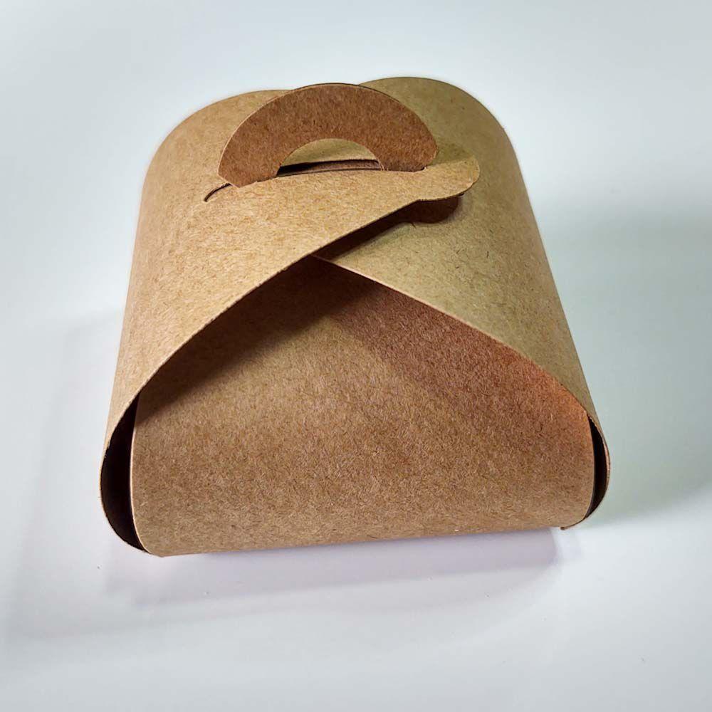 Embalagem para Bem Casados Modelo Rustico Papel Craft Kit com 100 unidades