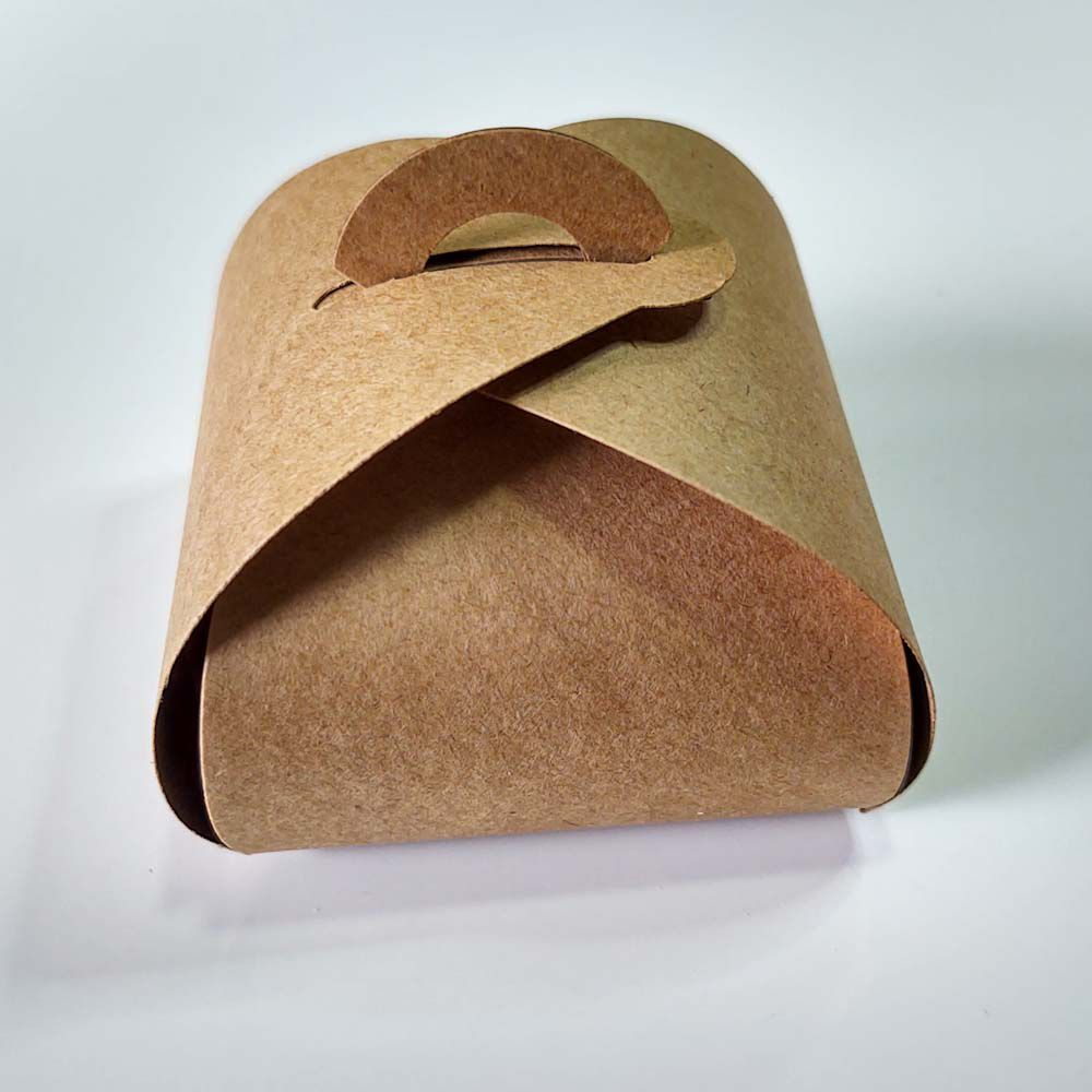 Embalagem para Bem Casados Modelo Rustico Papel Craft Kit com 20 unidades