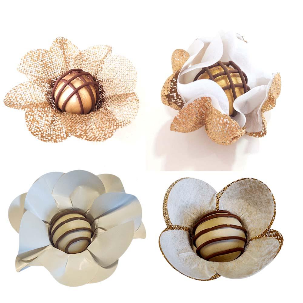 Forminhas para Doces 400 Unidades Tulipa Margarida Gerbera e Unica