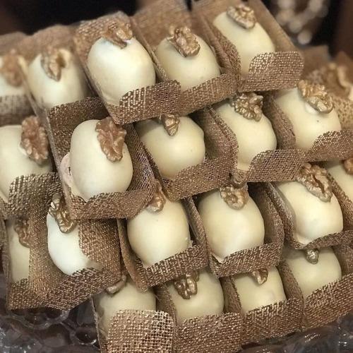 Forminhas para doces Caixinha em Tela Escócia Camafeu 200 unidades