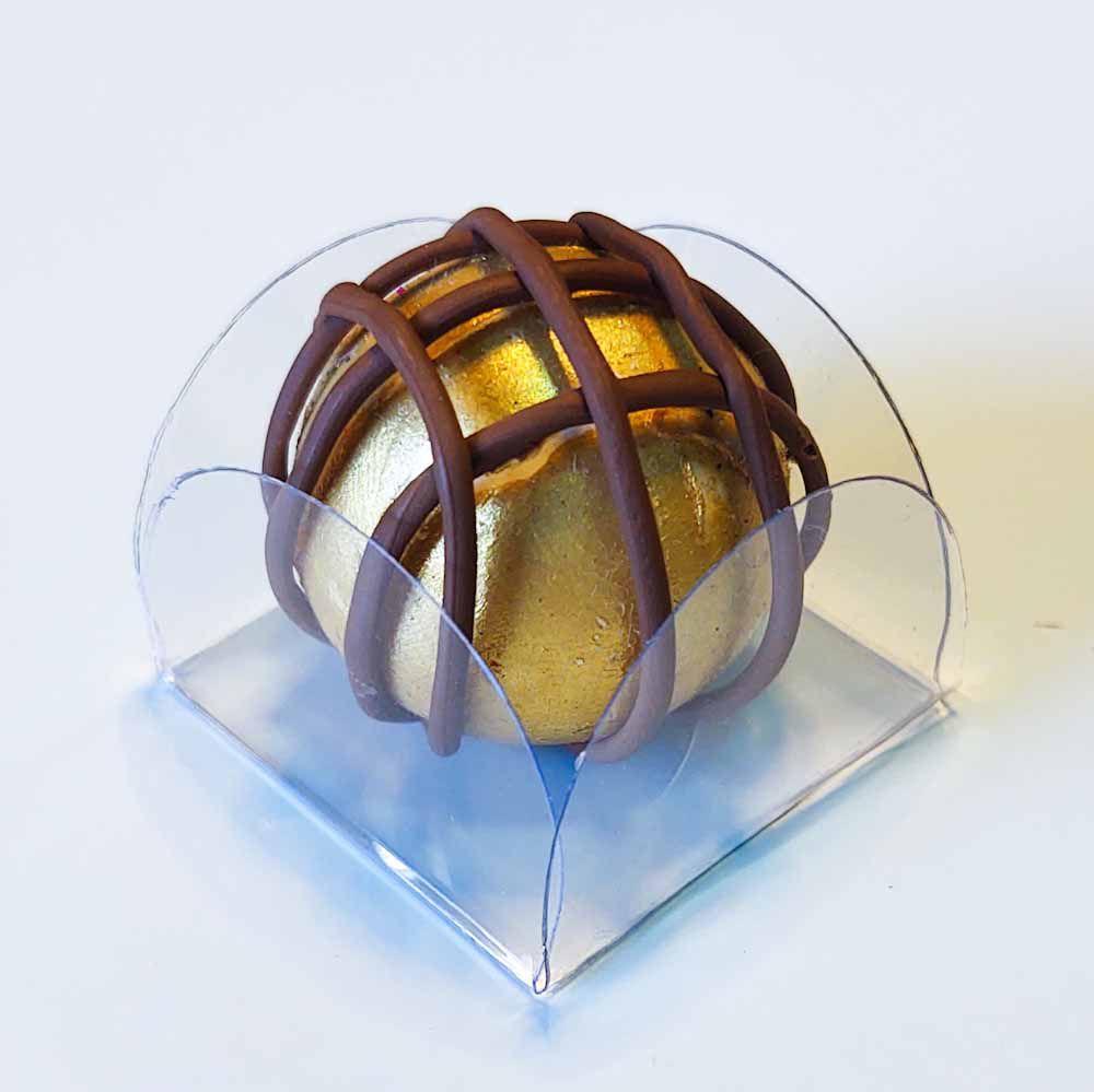 Forminhas para Doces Caixinhas em Acetato Modelo Cristal Kit 50 Unidades