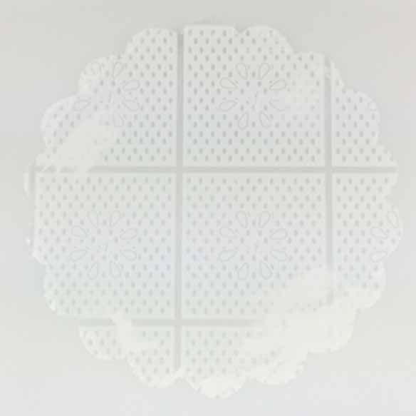 Tapetinhos para Doces em Celofane Transparente 7cm 100 Unidades Fundo de Doce