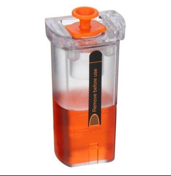 0554 2067 Tampa de armazenamento com enchimento de gel KCL: para proteger a sonda de pH da secagem