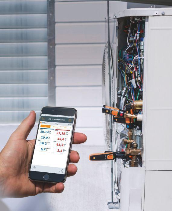 115i - Smart Probe Termômetro Alicate por Bluetooth