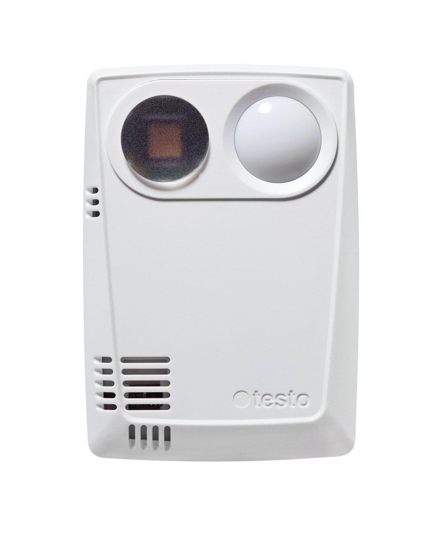 160 THL - Data logger WiFi com sensores integrados para temperatura, umidade, lux e radiação UV 0572 2024