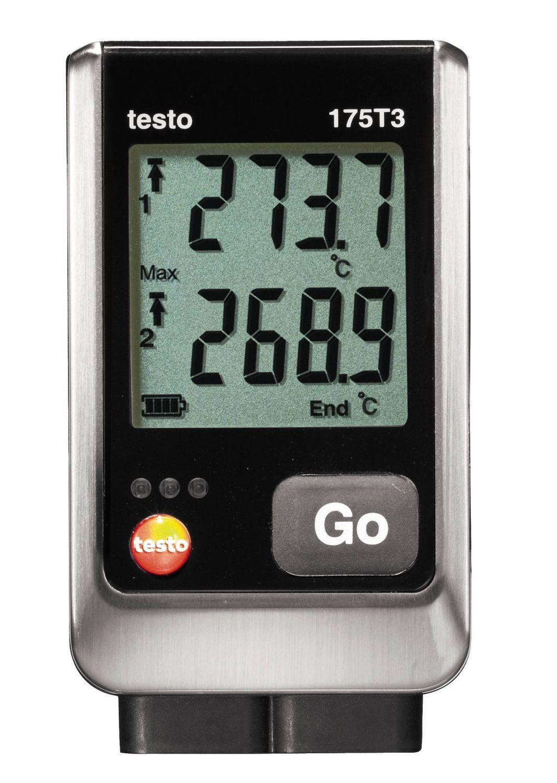 175 T3 - Data Logger de temperatura 2 canais sem sonda interna