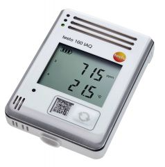 160 IAQ - Data logger WiFi com display integrado e sensores para temperatura, umidade, CO2 e pressão atmosférica 0572 2014