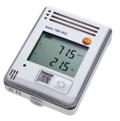 160 IAQ - Data logger WiFi com display integrado e sensores para temperatura, umidade, CO2 e pressão atmosférica 0572 2014