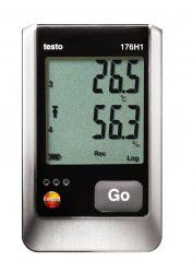 176 H1 - Instrumento de Medição de Temperatura e Umidade de 4 Canais