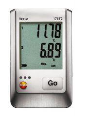 176 T2 - Data Logger medição de temperatura de 2 canais através de sonda externa