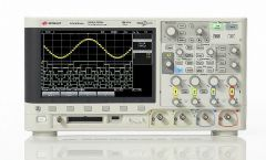 MSOX2024A - Osciloscópio Digital 200 MHz, 4 Canais com 8 Canais Digitais