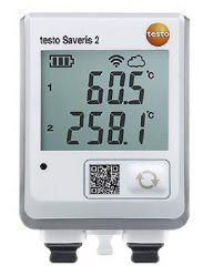 Saveris 2 T3 - Data logger WIFI com display e 2 conexões para sondas de temperatura TC