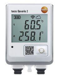 Saveris 2 T3 - Data logger WIFI com display e 2 conexões para sondas de temperatura TC