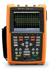 U1620A - Osciloscópio Portátil de 2 canais isolados, 200 MHz