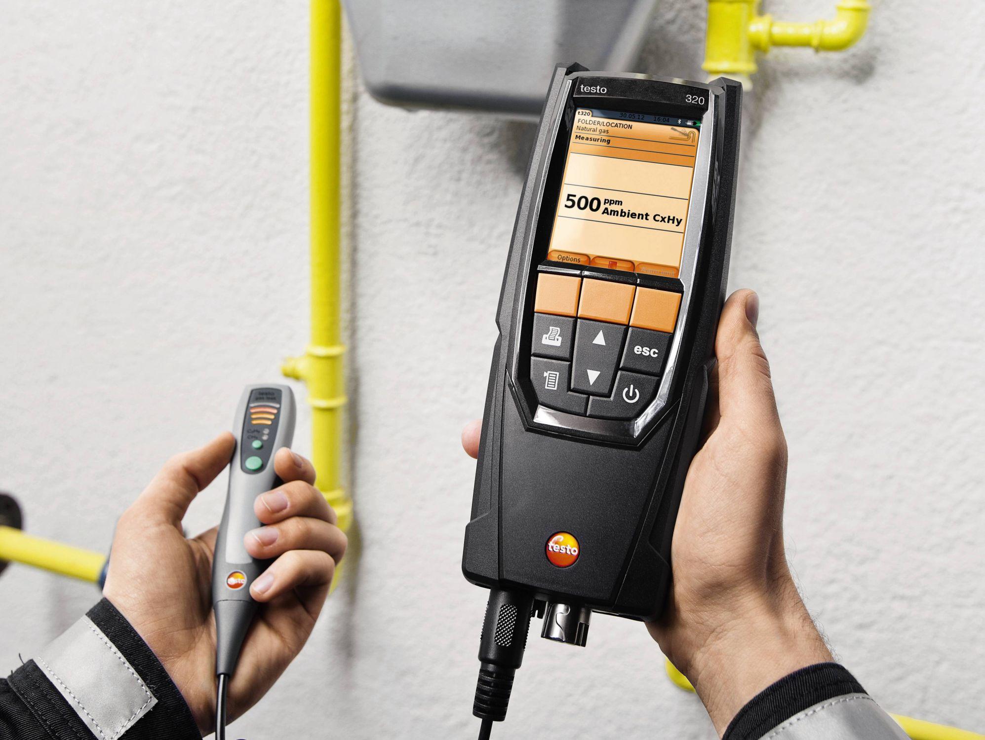 320 - Analisador de gases de combustão