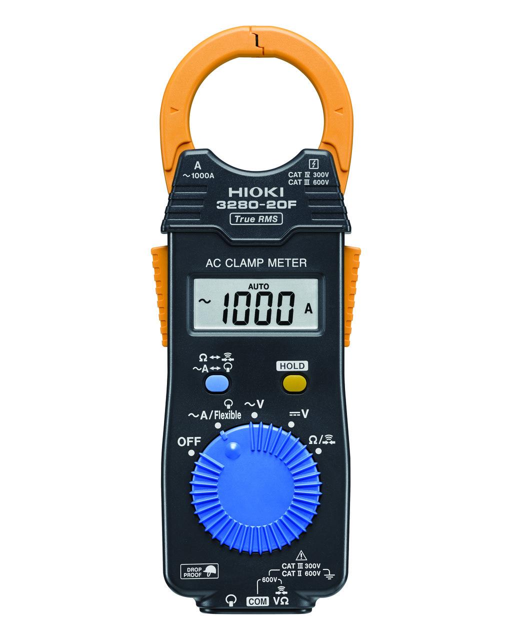 3280-20F - Alicate amperímetro AC, 1000V