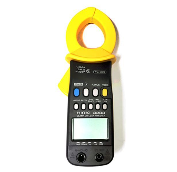3283 - Alicate amperímetro para medição de corrente de fuga