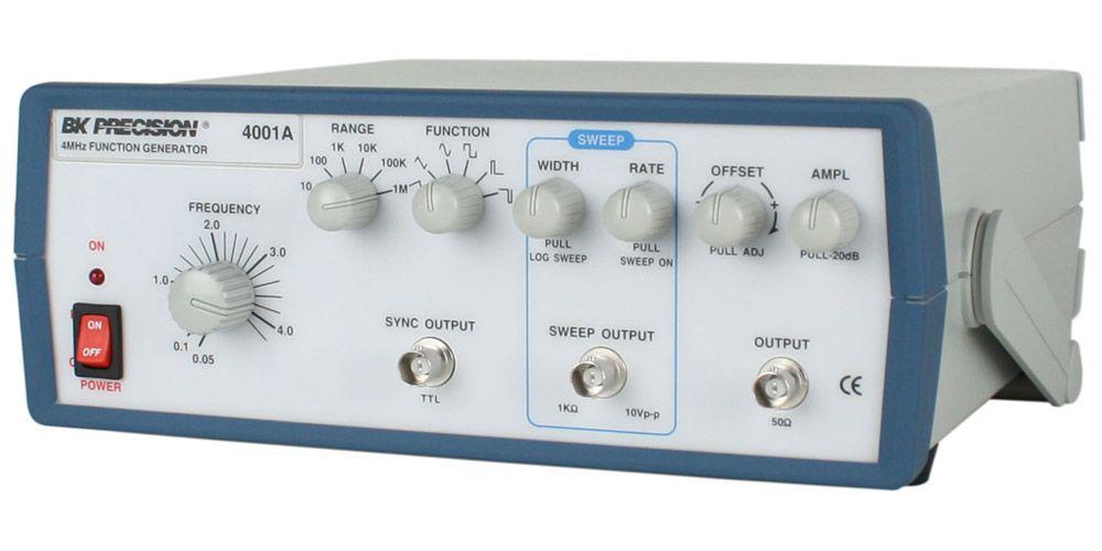 4001A - Gerador de Funções Analógico 4MHz
