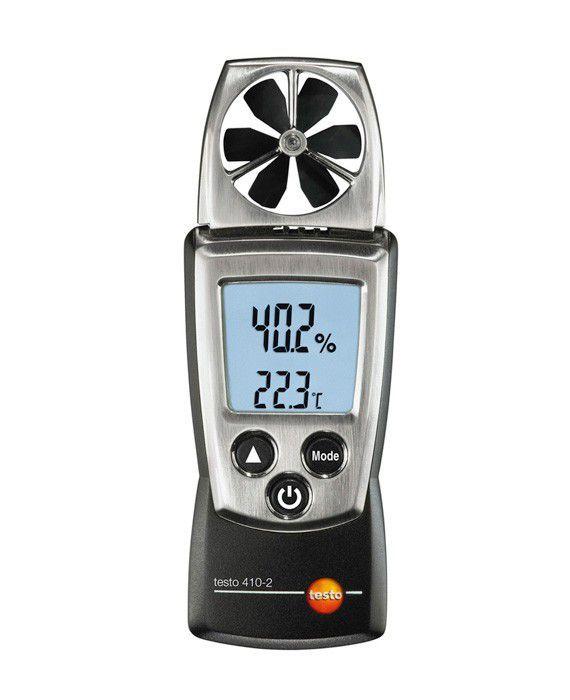 410-2 - Anemômetro de Molinete com Medição de Umidade Integrado