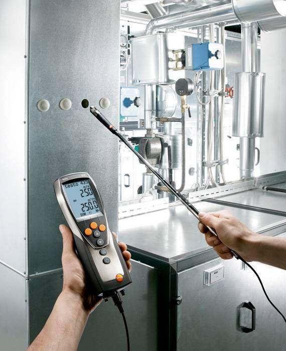 435-4 - Instrumento de medição multifunções com medição da pressão diferencial integrada, armazenamento e software PC