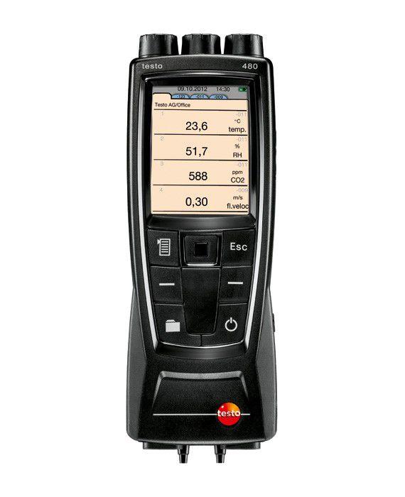 480 - Instrumento de Medição para VAC, incl. Medição de PBV/PPD