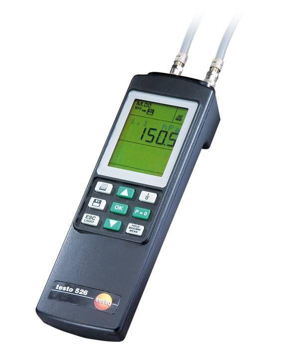 526-2 - Instrumento de medição de pressão diferencial de alta precisão (0 a 2000hPa 0.05% acc