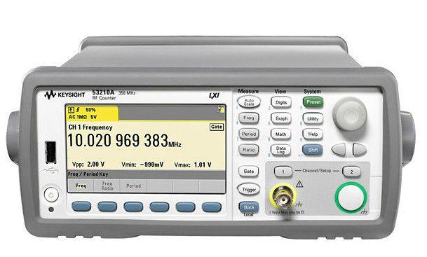 53210A - Frequencímetro 350 MHz de 10 dígitos