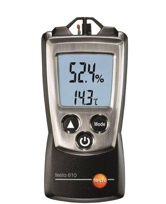 610 - Instrumento de medição de umidade/temperatura