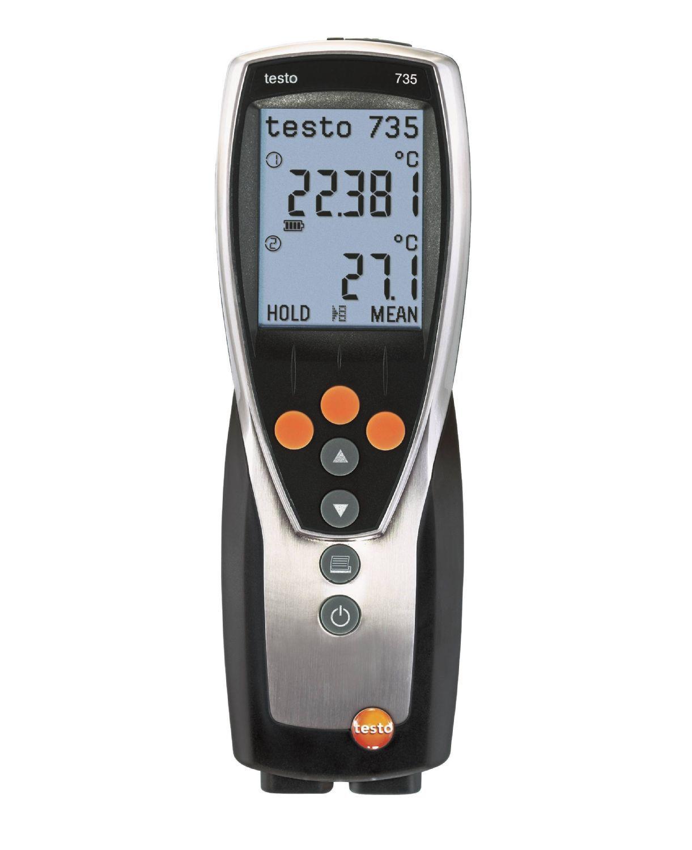 735-1 - Instrumento de medição de temperatura de 3 canais
