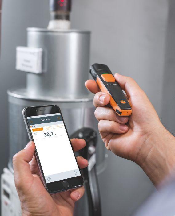 805i - Termômetro Infravermelho com Bluetooth Smart Probe 0560 1805