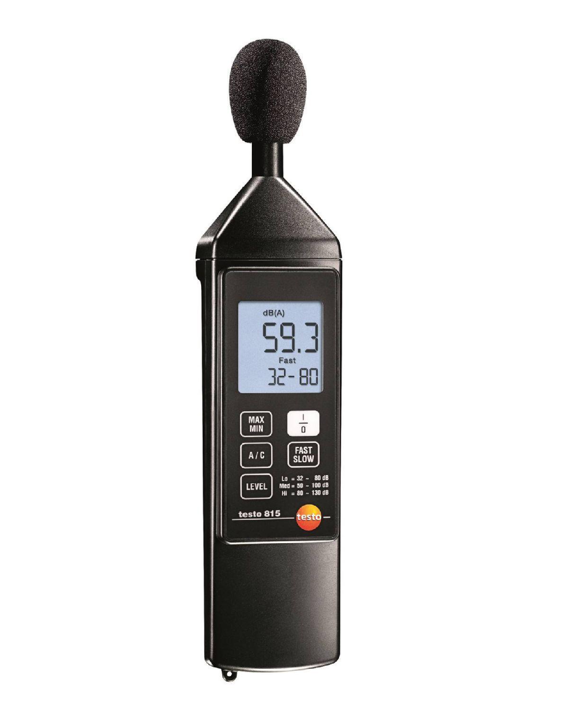 815 - Instrumento de medição de ruído (Decibelímetro)
