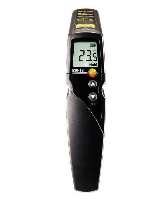 830-T2 - Termômetro infravermelho com mira laser de 2 pontos (ótica 12:1)