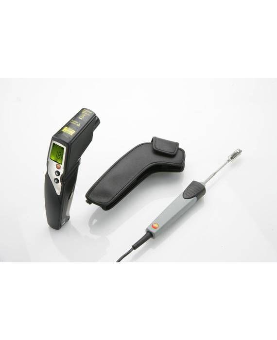 830-T4 - Termômetro por infravermelhos com mira laser de 2 pontos (ótica 30:1)